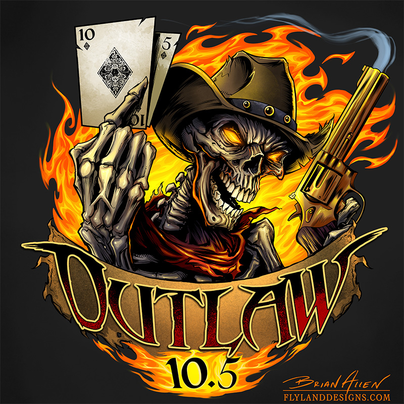 skeleton hands holding cards and pistol images coloring
