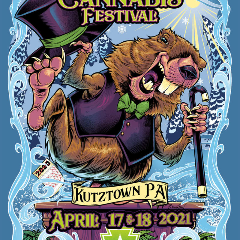 PA Cannafest Poster