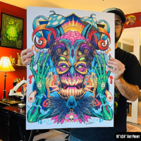 Large Art Print Artwork by Brian