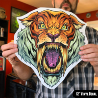 Vinyl Decals die-cut for outdoor