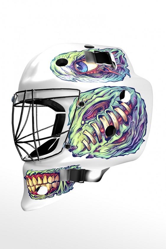 Custom Hockey Helmet decals - Flyland Designs, Freelance ...