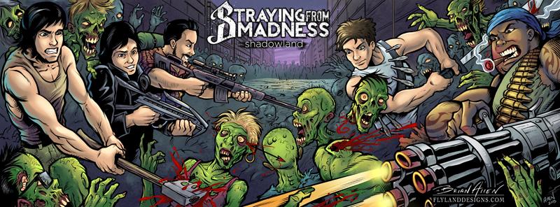 Facebook banner design for metal band