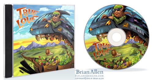 Album cover of Rastafarian artis