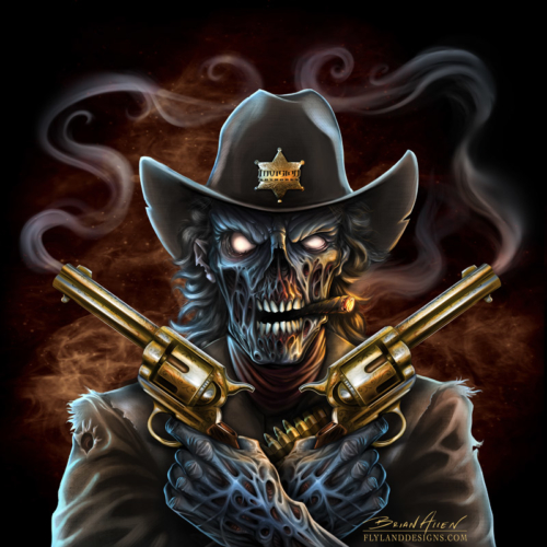 Cool Skull Logos With Guns Invision Artworks Unde...