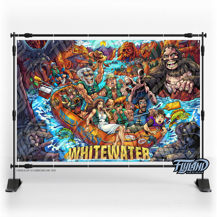 Alternate pinball artwork of Wil