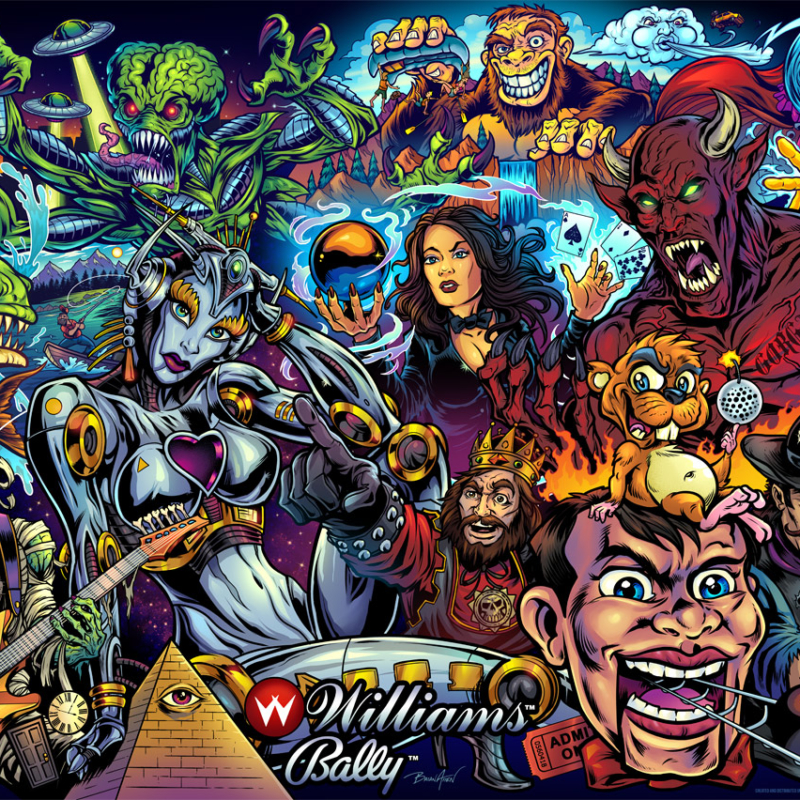 All the best Williams games mash