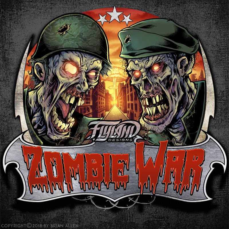 Zombie soldiers battle it out mi