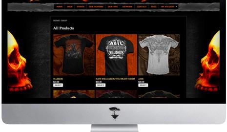 Total Domination Website design graphics