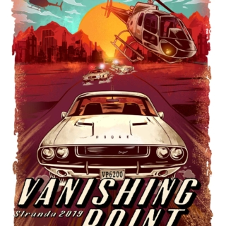 Vanishing point parody Russ Logo